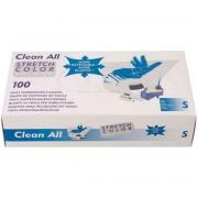 Sibel - Clean All - Vinyl Handschoenen - Doorzichtig - Gepoederd - Medium - 100 Stuks