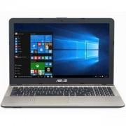 Лаптоп ASUS X541NC-GO024 15.6 инча HD LED 1366x768, 4 GB DDR3, Intel Quad-Core Pentium N4200, GeForce 810M 2GB, 1 TB, Черен