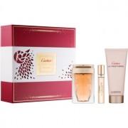 Cartier La Panthere lote de regalo VIII. eau de parfum 75 ml + eau de parfum 9 ml + leche corporal 100 ml