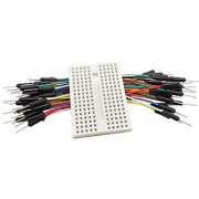 CJRSLRB IB171 SYB 170-point Mini Prototype Solderless PCB Breadboard Kit for Arduino with Jumper Wires Cables