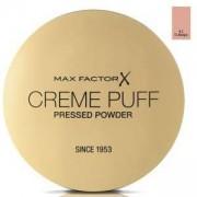 Компактна пудра Max Factor Creme Puff Pressed Powder, Високо покритие, Матиращ ефект, 42 Deep Beige, 21 гр., 50884391