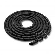 Spirala matisat cabluri 14mm Qoltec