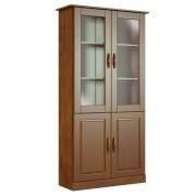 Estante Finestra 1907 Office 02 Portas com vidro Imbuia