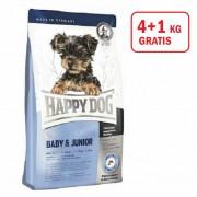 Happy Dog: Supreme Mini Baby Junior, 4kg +1kg GRATIS