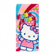 Плажна кърпа Hello Kitty многоцветна