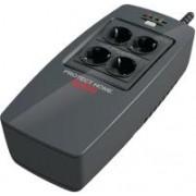 Neprekidno napajanje AEG UPS Protect Home 600VA/300W, VFD, offline UPS technology, 4 outlets/3 UPS buffered, USB/RS232