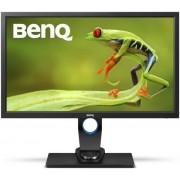"""Monitor LED IPS BenQ 27"""" SW2700PT, WQHD, DVI-DL, HDMI, DisplayPort, 5ms GTG, Flicker Free (Negru)"""