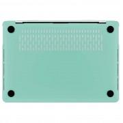 Artwizz Rubber Clip Case - качествен предпазен кейс за MacBook Pro 13 Touch Bar и без Touch Bar (2016 и по нов) (светлосин)