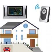 Tradico® Wireless Weather Station Alarm Clock Barometer Digital LCD Colorful Display