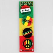 jelvények DSX Reggae&Rasta - Asorted - B-5576