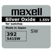 Maxell bateria srebrowa mini Maxell 384 / 392 / SR 41 SW / SR 736 SW / G3