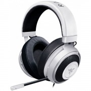HEADPHONES, RAZER Kraken Pro V2, Analog Gaming Headset, Microphone, White (RZ04-02050500-R3M1)