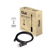1.8M USB TYPE-C TO DP 1.4 MM BI-DIRECTIONAL CABLE