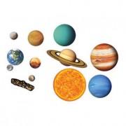 Sistemul solar Set magnetic educativ