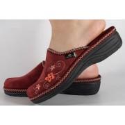 Papuci de casa bordo din plus dama/dame/femei (cod DESPINA)