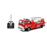 17 Big R/C Rescue Fire Engine Truck Remote Control Kids Toy with Extending Ladder