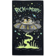 Rick And Morty Spaceship Strandlaken standaard