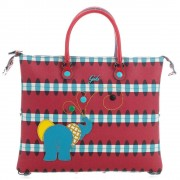 Gabs Borsa Donna a Mano con Tracolla G3 3 Borse in 1 Animals Elefante Media