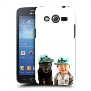 Husa Samsung Galaxy Core 4G LTE G386F Silicon Gel Tpu Model Bebelus Si Caine New York