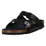 Birkenstock Arizona Slim Gator Gleam Black, Shoes, svart, EU 36