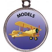 """Keepsake Awards Models Silver Award Disk """"Creative Arts and Hobbies Collection"""" 1 inch dia"""