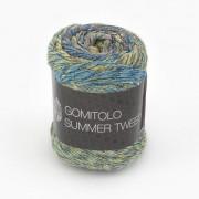 Lana Grossa Gomitolo Summer Tweed von Lana Grossa, Khaki/Dunkelgrau/Oliv/Marine/Anthrazit