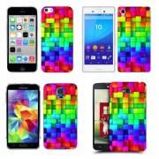 Husa Allview E2 Living Silicon Gel Tpu Model Colorful Cubes