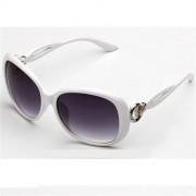 Ochelari de soare cu rama alba Retro Sunglass