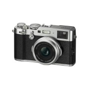 Fujifilm X100F Compact Camera - Silver Retro-Style Digital Camera