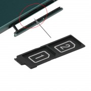 iPartsAcheter pour Sony Xperia Z5 et Z5 Premium Dual SIM Card Plateau de remplacement
