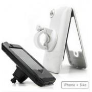 iPhone 4/4S Cykelhållare (Vit)
