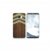 Funda Para Celular Samsung Galaxy S8 - Funda Para Celular Samsung Galaxy S8 - Madera Con Flechas Verdes