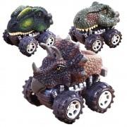 2020 Children's Day Gift Dinosaur Model Mini Toy Car Back Of The Car Gift Dinosaur Model Action Figures Kids Boy Giftигрушки