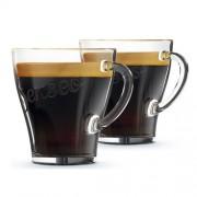 Philips - Senseo Glazen koffiekopjes - 2 stuks