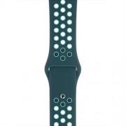 Apple Watch 44mm Midnight Turquoise/Aurora Green Nike Sport Band - Regular