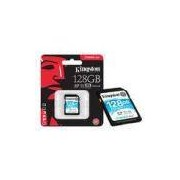 Cartao De Memoria Classe 10 Kingston Sdg/128GB Sdxc 128GB 90R/45W Uhs-I U3 V30 Canvas Go