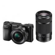 Sony Alpha a6000 (ILCE-6000Y) + 16-50 mm + 55-210 mm (czarny) - W ratach płacisz tylko 2799,16 zł! - odbierz w sklepie!