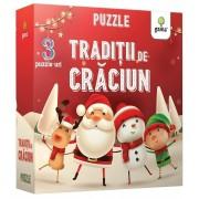Traditii de Craciun. Puzzle