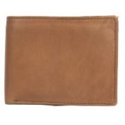 BRANDED BEBE Men Brown Genuine Leather Wallet(3 Card Slots)