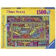 Ravensburger Puzzel James Rizzi (1500)