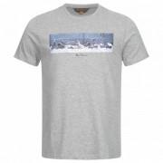 BEN SHERMAN Graphic Heren T-shirt 0060999G-009 Grijze mergel - grijs - Size: Medium