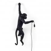 MONKEY - Kinkiet zewnętrzny Lewy Wys.76,5cm - Czarny