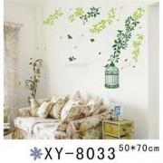TipTop Wall Stickers Grön Wicker Rural Design väggdekaler