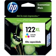 Cartucho HP 122XL-Tricolor