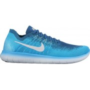 Nike Free Run Flyknit 2 - scarpe running - uomo - Blue Lagoon