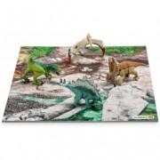 SCHLEICH Mali dinosauros sa podlogom od puzli 42213