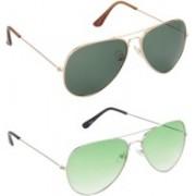 Redleaf Aviator Sunglasses(Green)