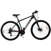 Bicicleta mountainbike Omega Thomas 27.5 cadru 46cm negru portocaliu alb 2019