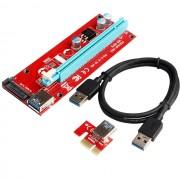 Riser PCI-E 1X para PCI-E 16X ver.007S