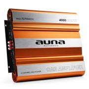 Amplificator Auna pentru mașină cu 4 Canale - 4000W (W2-AMP404CH)